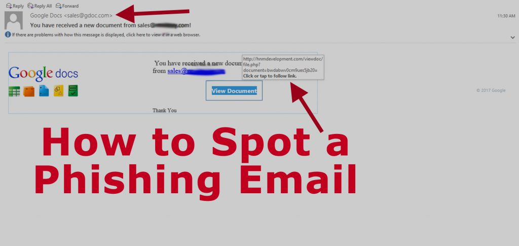 How to Spot a Phishing Email - AskCyberSecurity com