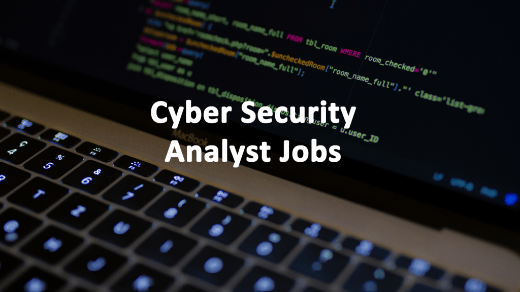 Cyber Security Analyst Career Askcybersecurity Com