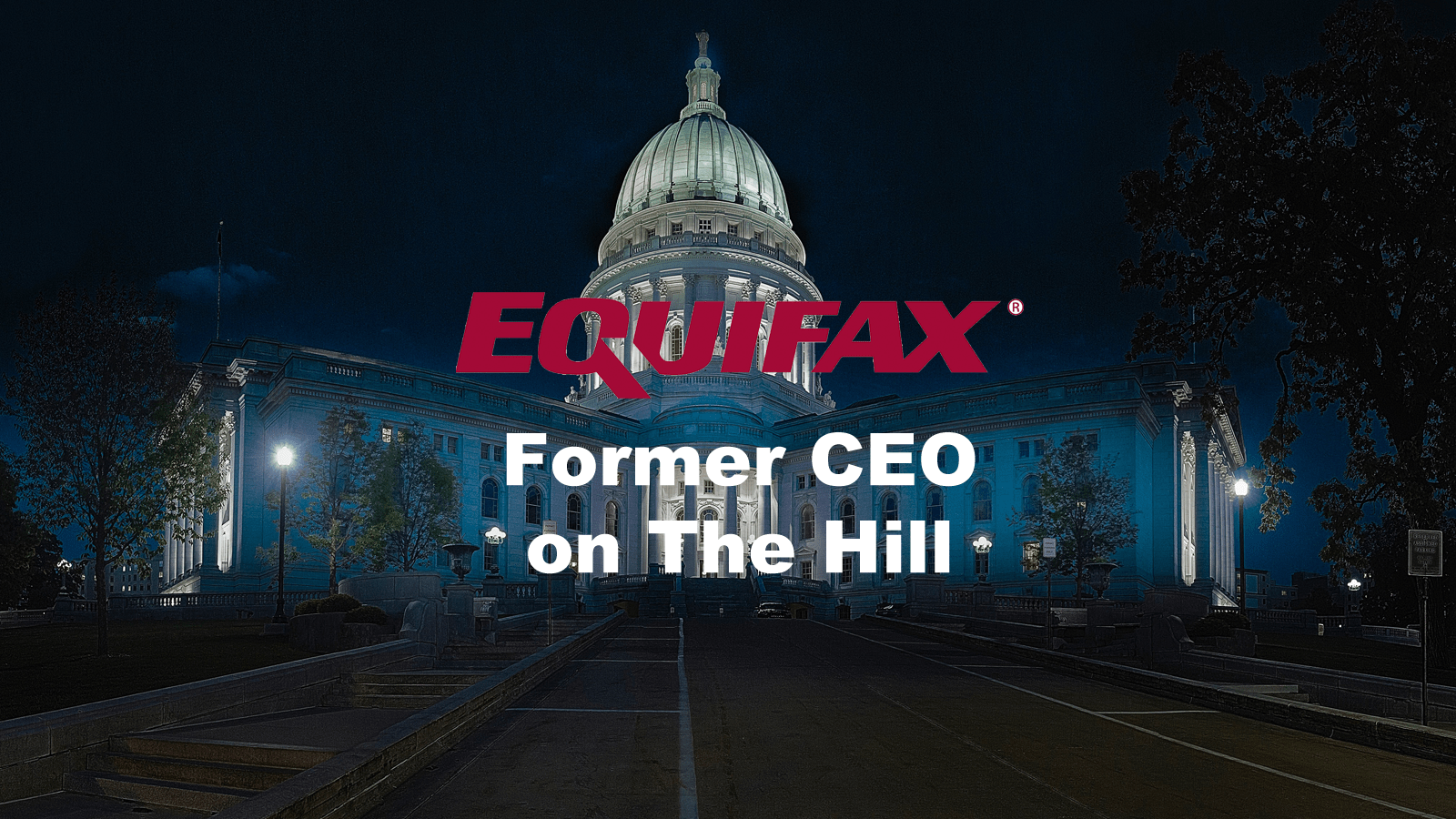 Former Equifax Ceo Testifies Before Subcommittee