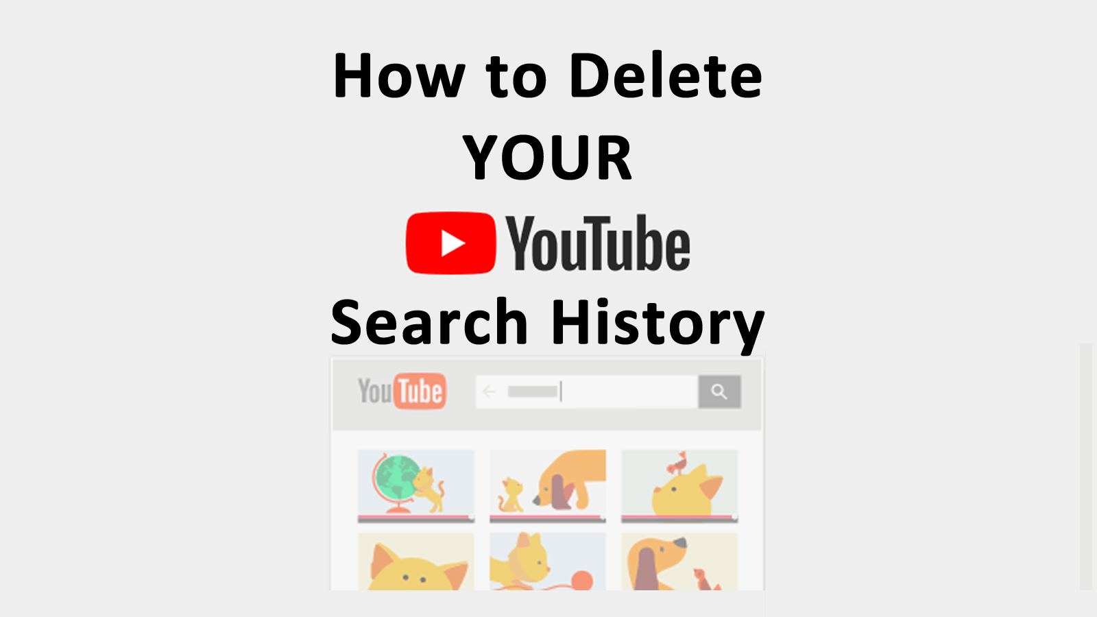 How To Delete Your Youtube Search History Askcybersecuritycom