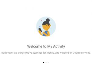 Delete Google Search Activity