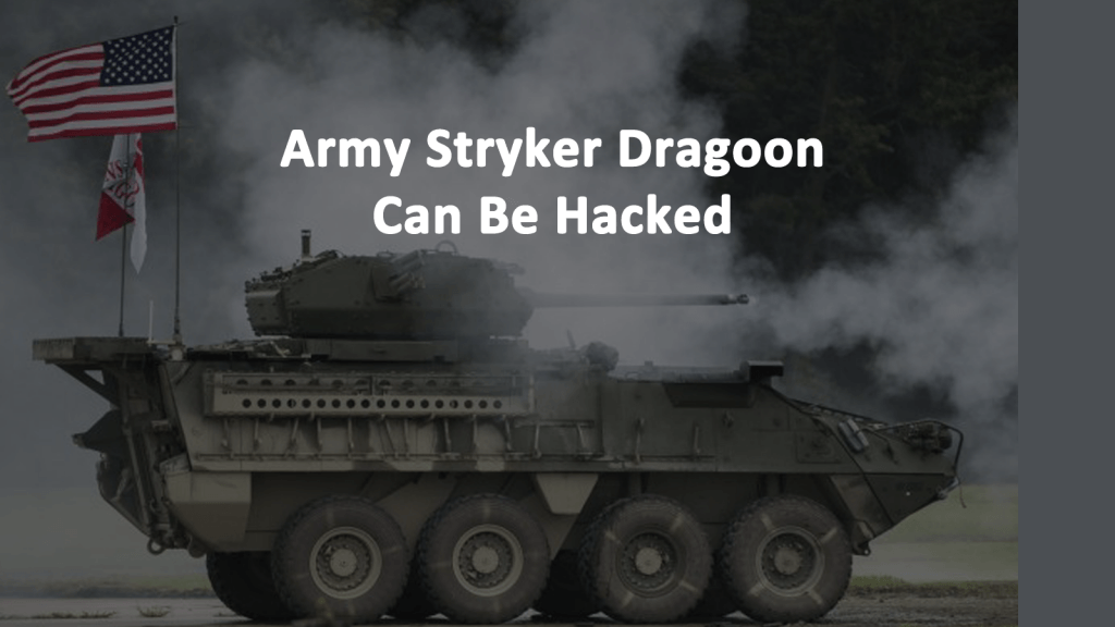 Army Stryker Dragoon Can Be Hacked