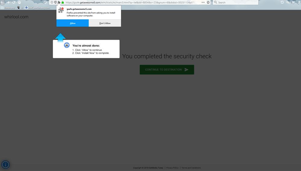 Fake Website Spoofed