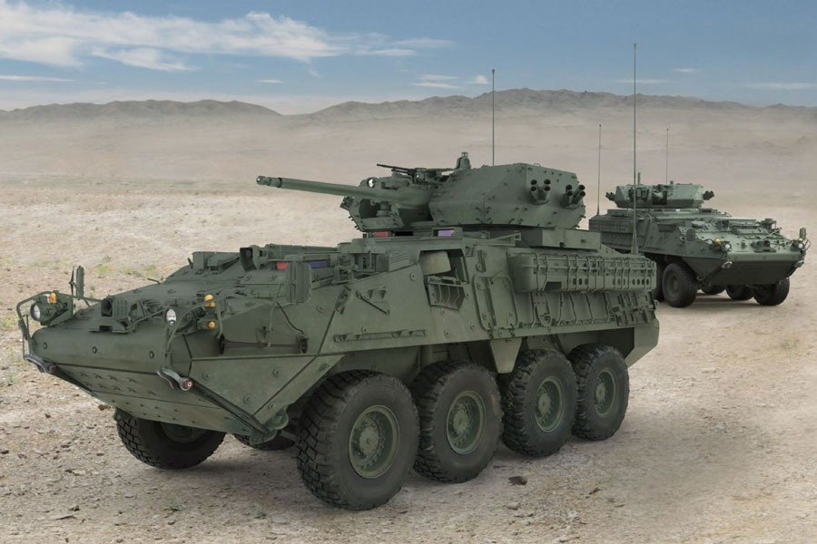 US Army Stryker Dragoon