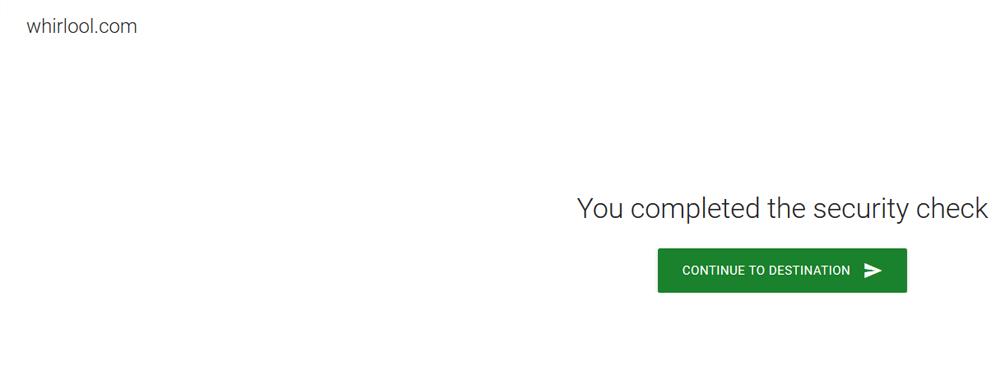 Fake Website Screenshot