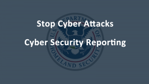 Cyber Security Reporting