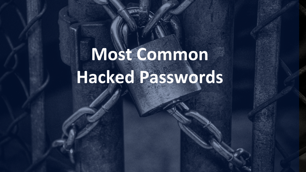Common Hacked Passwords