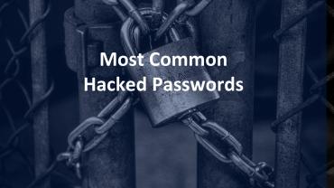 Common Hacked Passwords