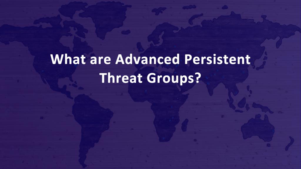 Advanced Persistent Threat List