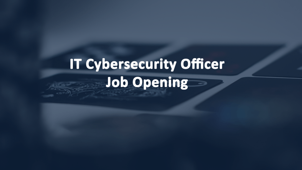 IT Cybersecurity Officer