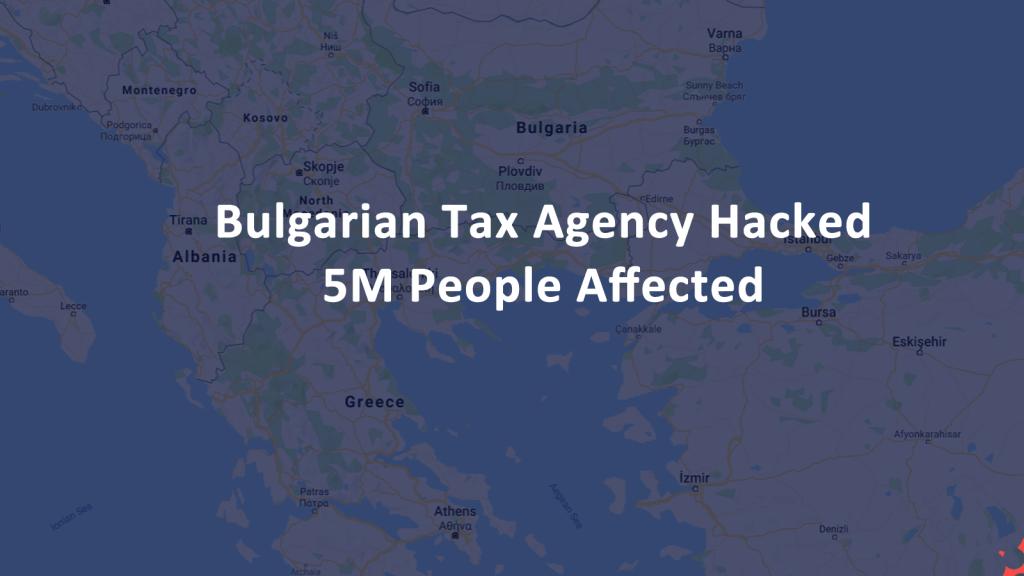 Bulgarian Tax Agency Hacked
