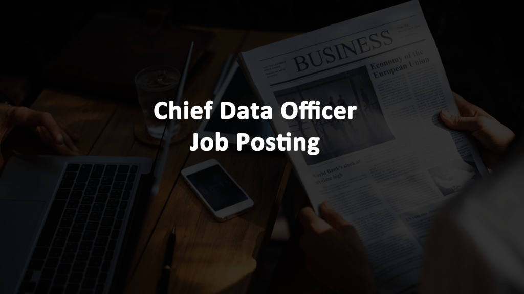 Chief Data Officer PA