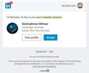 Hacker LInkedIn Connection Malware