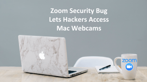 Zoom Mac Hack Webcam