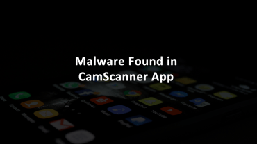 CamScanner Malware Android