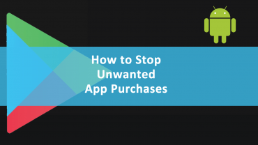 Stop Unwanted App Purchases Google Play