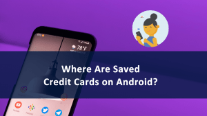Saved Credit Cards Android