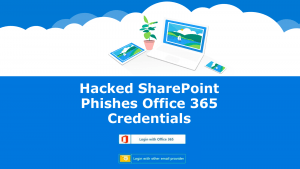 SharePoint Phish-Office Credentials
