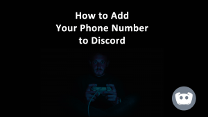 Add Phone Number Discord