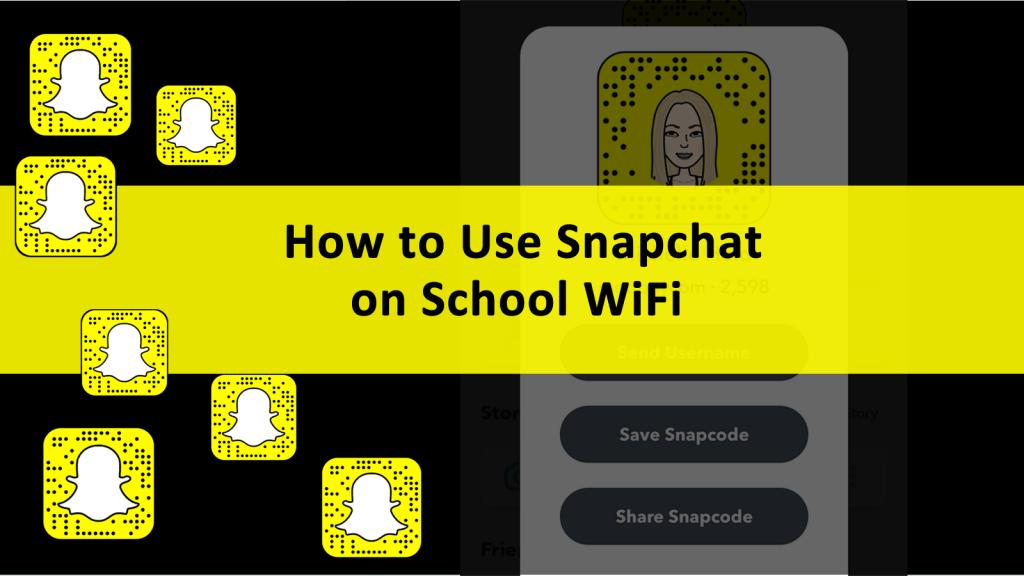 Use Snapchat School WiFi