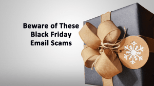 Black Friday Email Scams