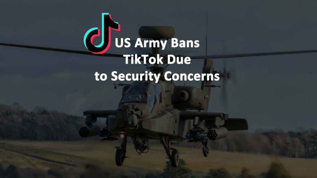 US Army Bans TikTok